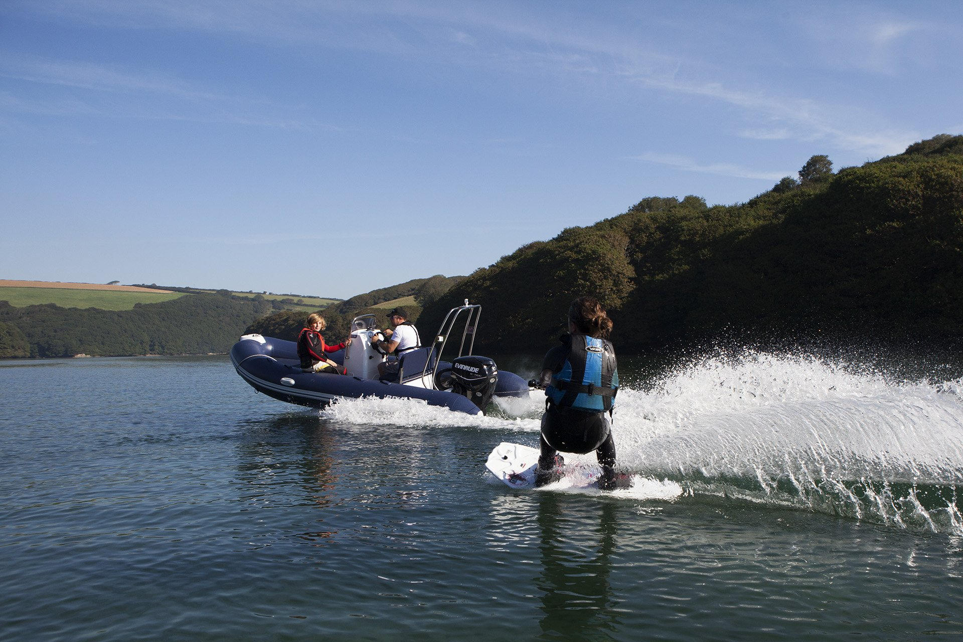 Inflatable Boat Wake Boarding