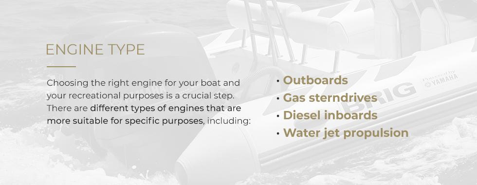 Boat Engine Type
